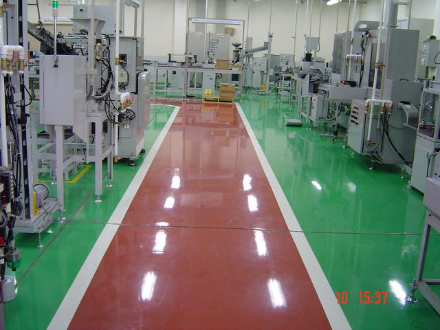 Industrial Flooring Materials