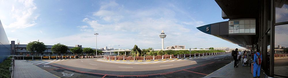 Panorama of Changi Airport