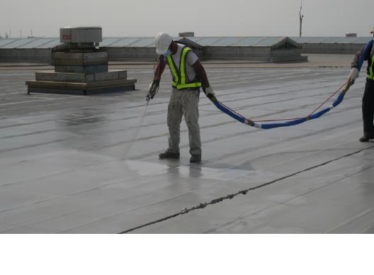 LAM re-roofing for airport