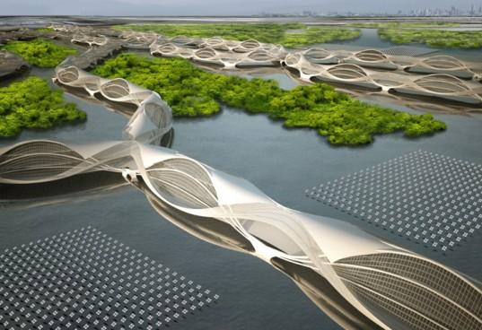 Thailand Architecture Landscape