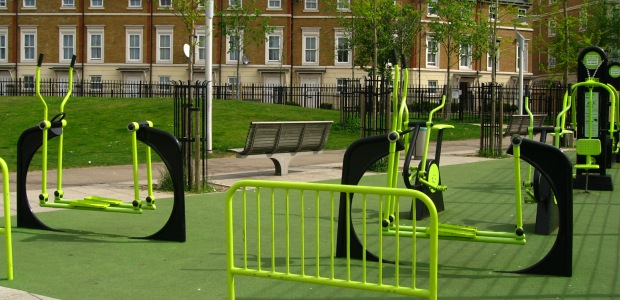 Outdoor Gym in Park