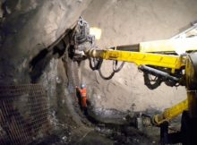 Shotcrete Using Steel Fibre
